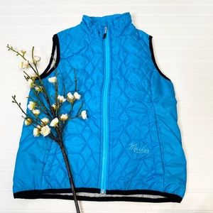 Marker Quilted Zip Up Vest